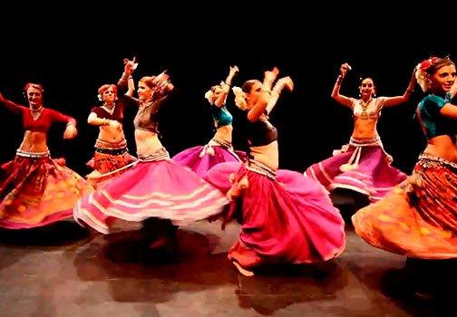 Aula Dança Cigana